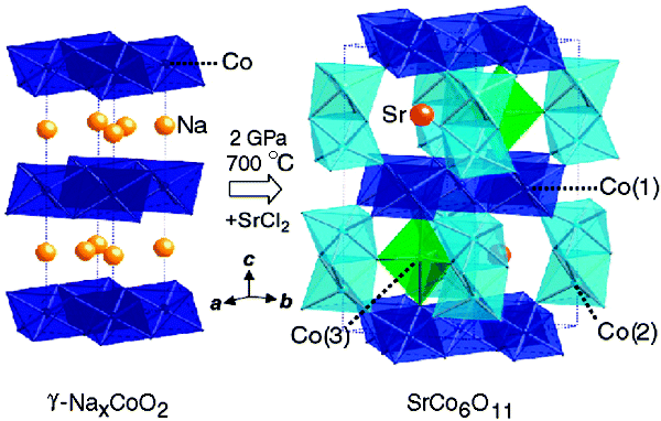 High-Pressure Synthesis and Structure of SrCo6O11: Pillared Kagome´ Lattice System with a 1/3 Magnetization Plateau