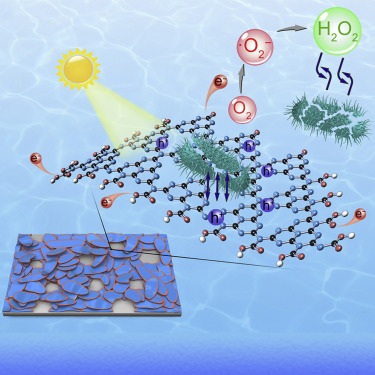 Edge-Functionalized g-C3N4 Nanosheets as a Highly Efficient Metal-free Photocatalyst for Safe Drinking Water