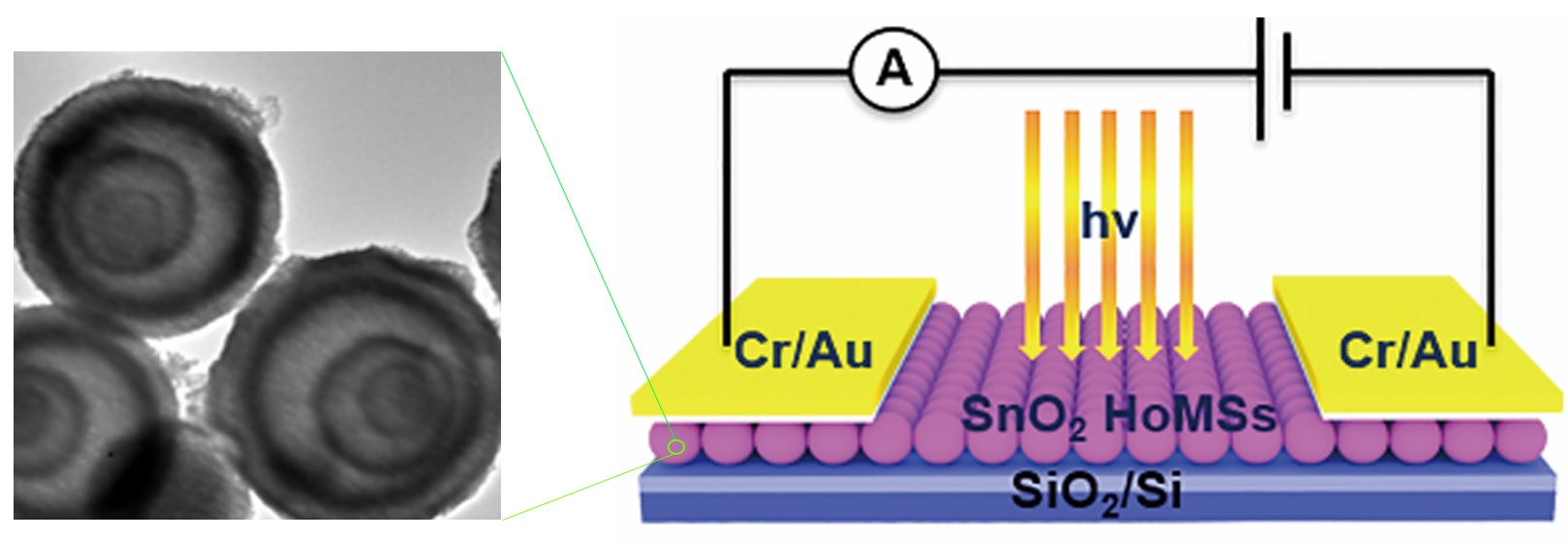 Hollow Multi-shelled Structures SnO2 with Enhanced Performance for Ultraviolet Photodetector